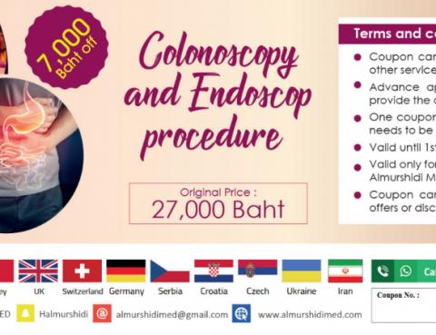 Best Colonoscopy and Endoscopy Procedure in Thailand