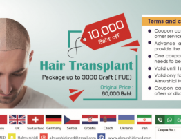 Best Hair Transplant Surgery Cost in Thailand